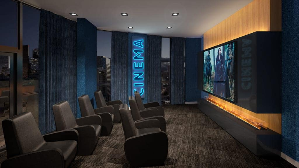 in.DE Condos Theatre Room True Condos