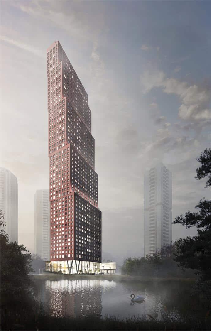 CG Tower Condos Building Rendering True Condos