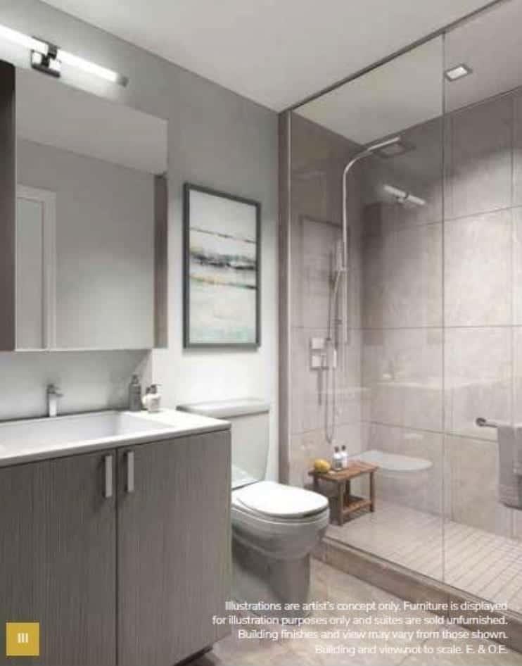 Keystone Condos Bathroom Interior True Condos