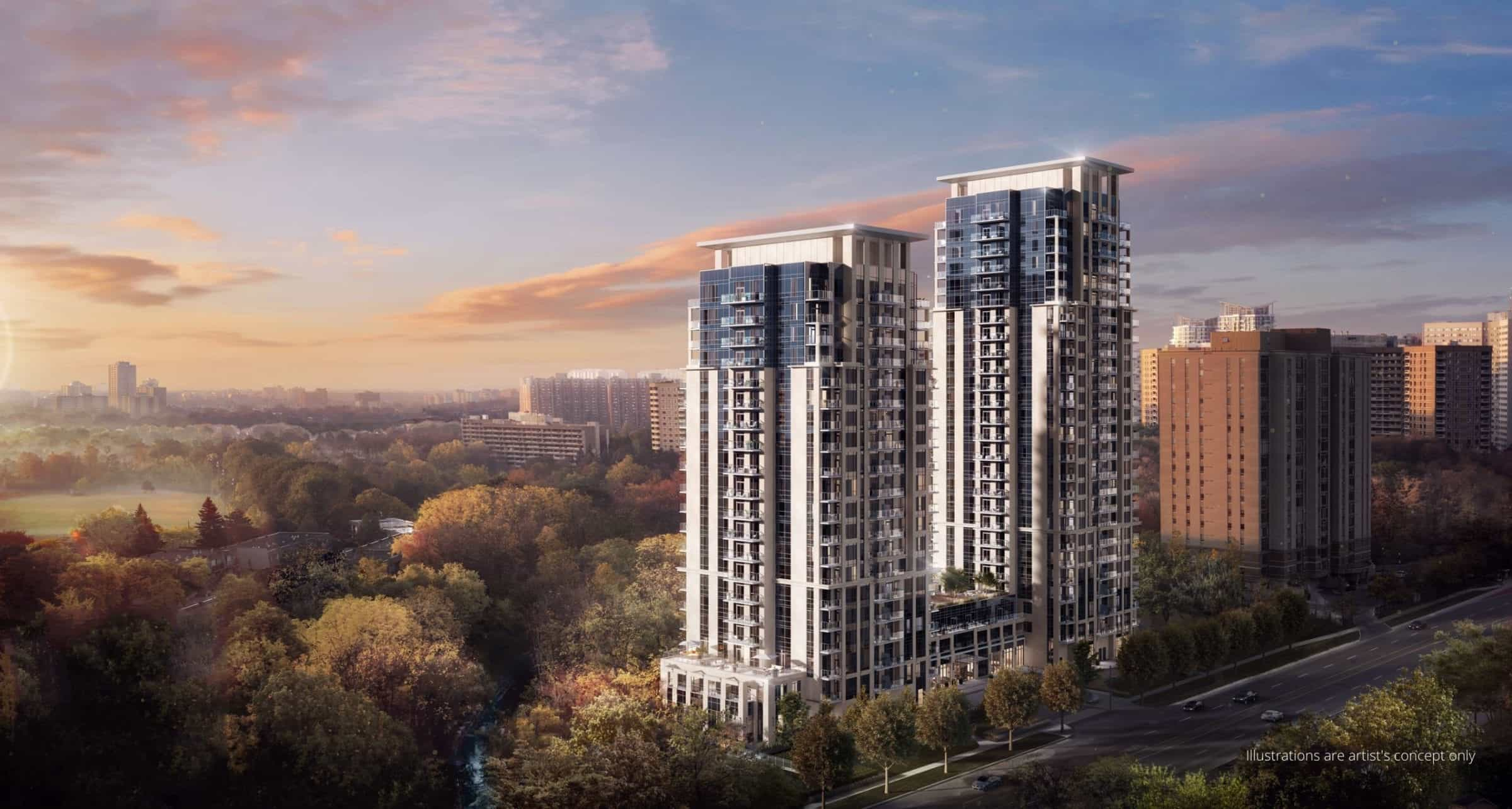 Keystone Condos Exterior Buildings True Condos