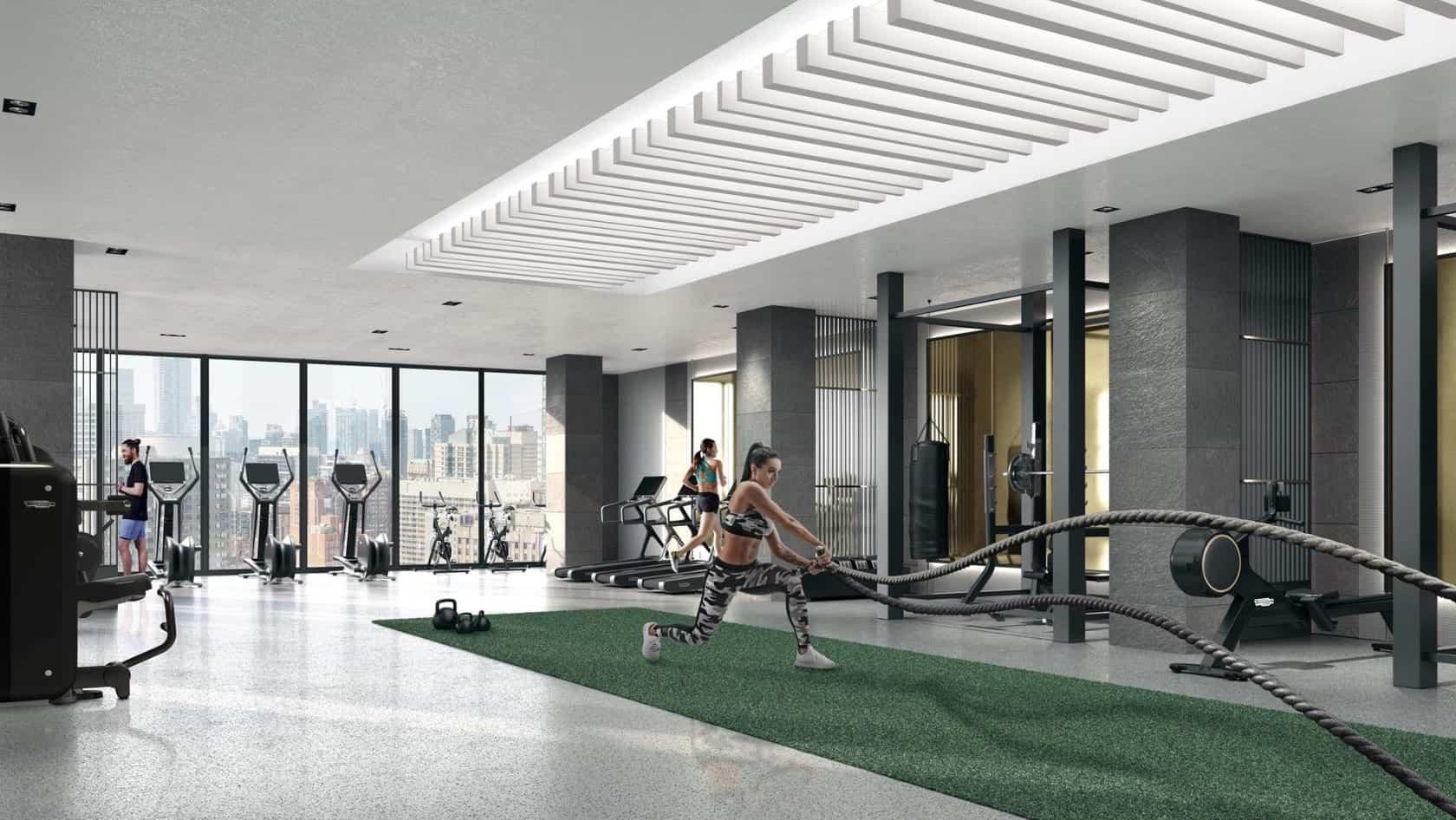 Prime Condos Gym Fitness True Condos