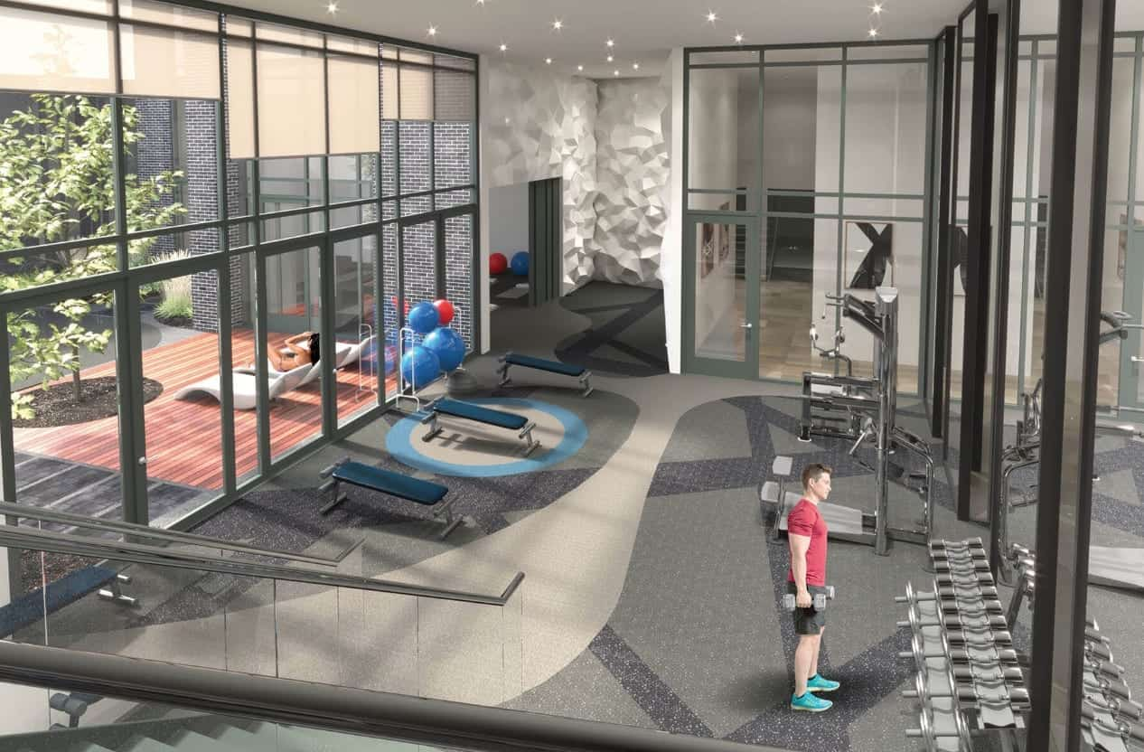 East Junction Condos Gym Fitness True Condos Amenities