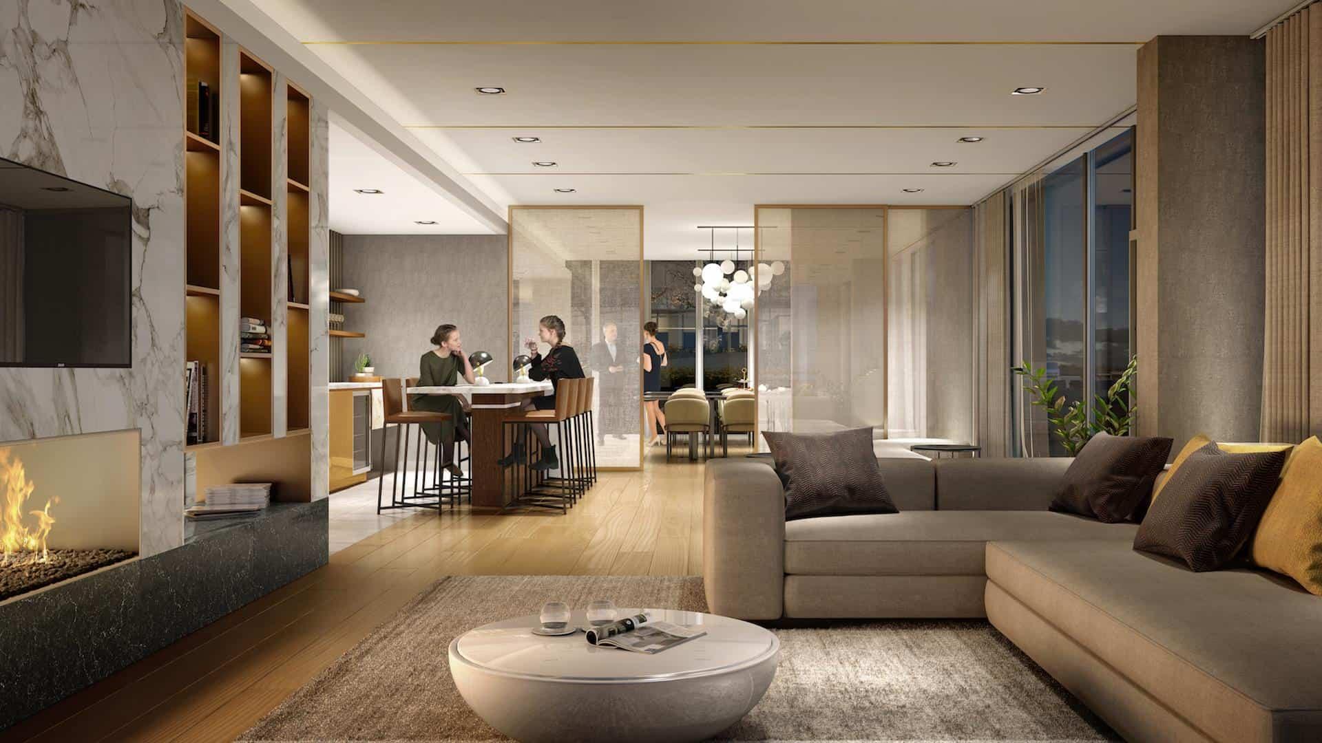 M2M Condos Lounge True Condos