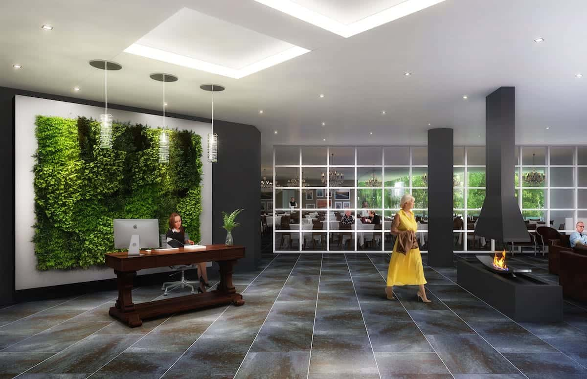 The Founders Residences Lobby True Condos