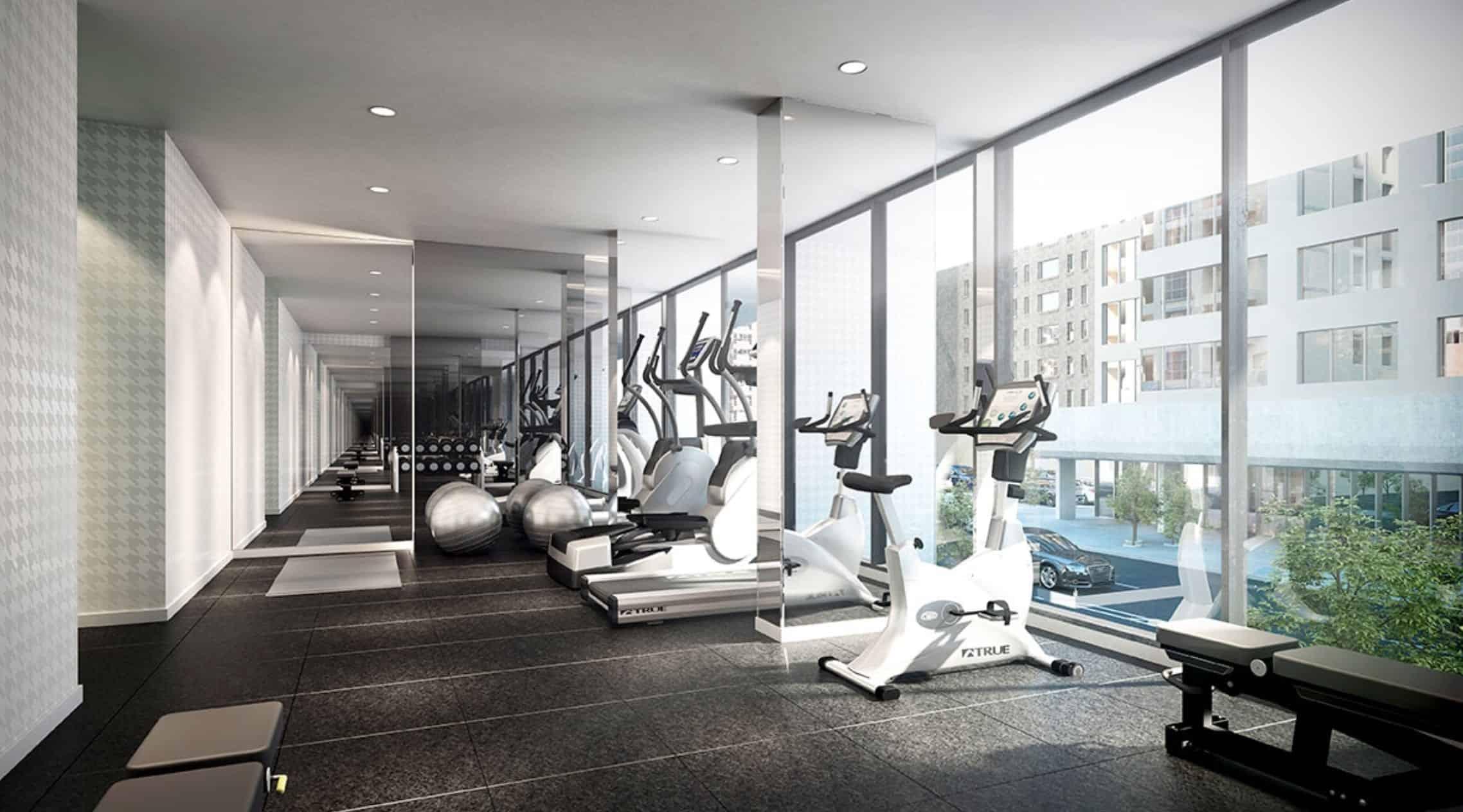 The Woodsworth Condos Gym Fitness True Condos
