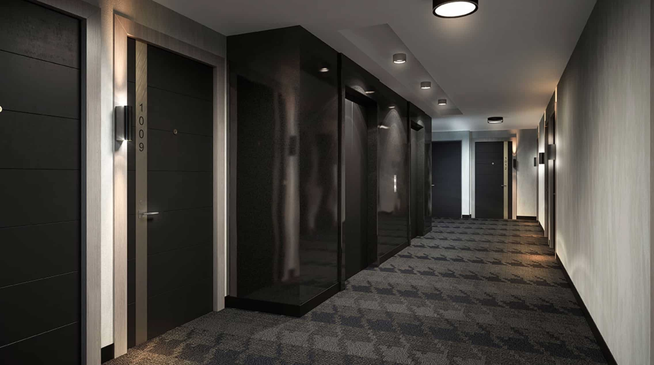 The Woodsworth Condos Hallway True Condos