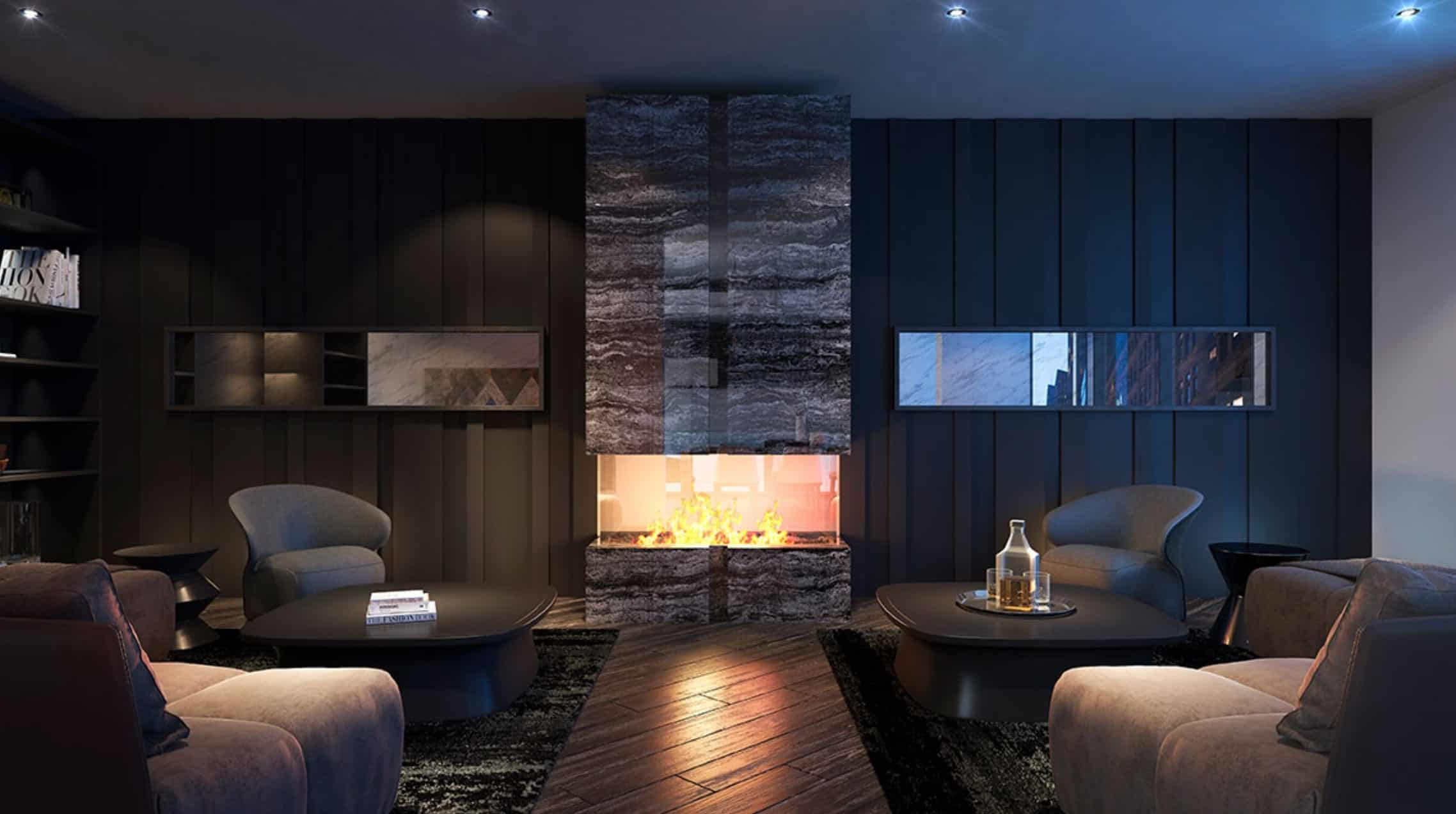The Woodsworth Condos Lounge True Condos