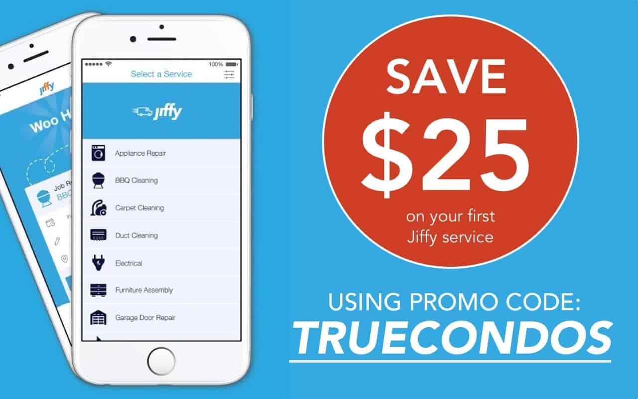 A Review on Using Jiffy As Your Tradesperson | True Condos