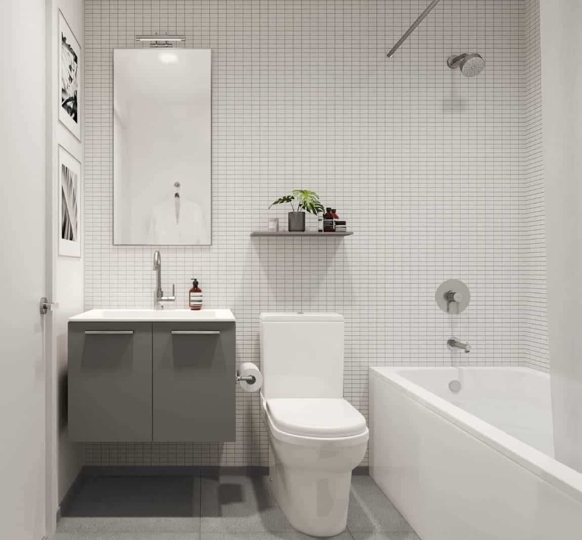 Junction House Condos Bathroom Interior True Condos