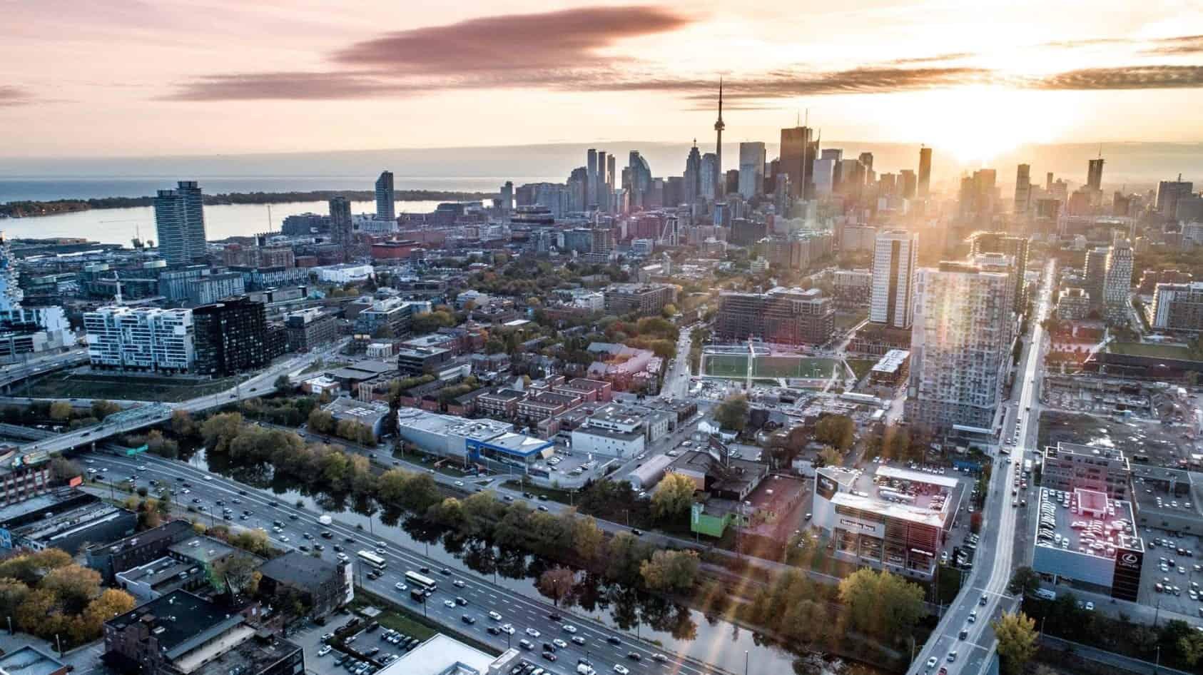 River and Fifth Condos Aerial View True Condos