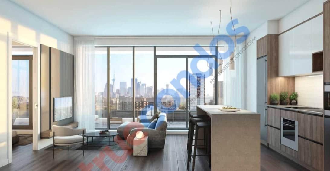 River and Fifth Condos Suite Interior True Condos