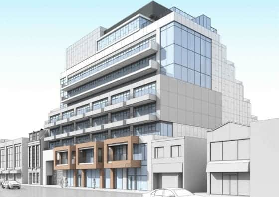 733 Mount Pleasant Road Condos Exterior Building True Condos