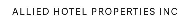 Allied Hotel Properties Logo True Condos