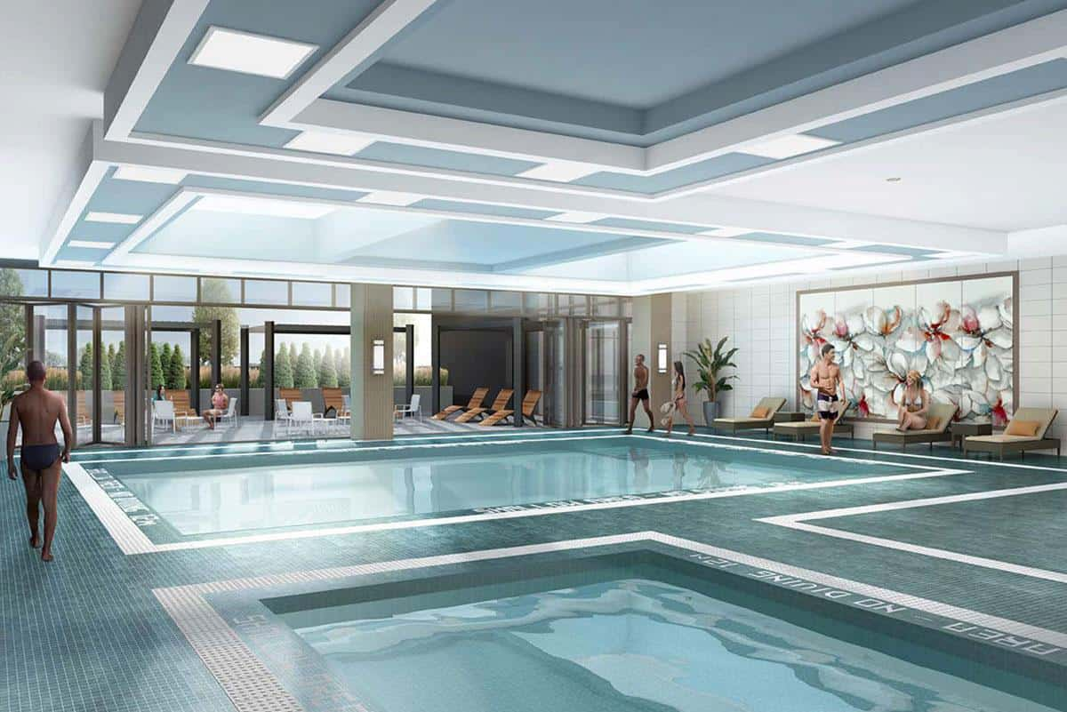 D'or Condos Swimming Pool True Condos