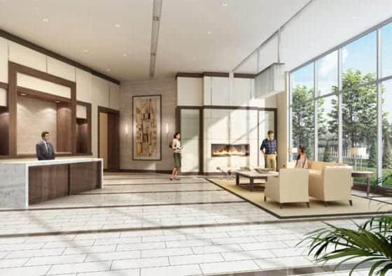 Galleria in the City Pickering Lobby True Condos