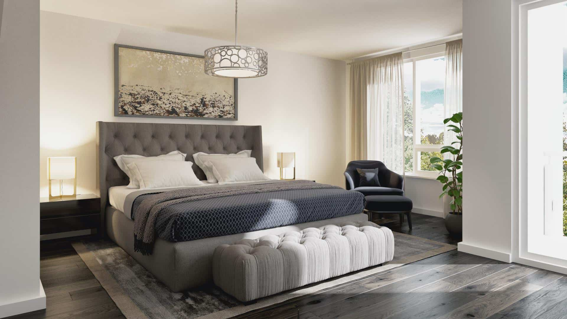 Ironwood Towns Condos Bedroom Rendering True Condos