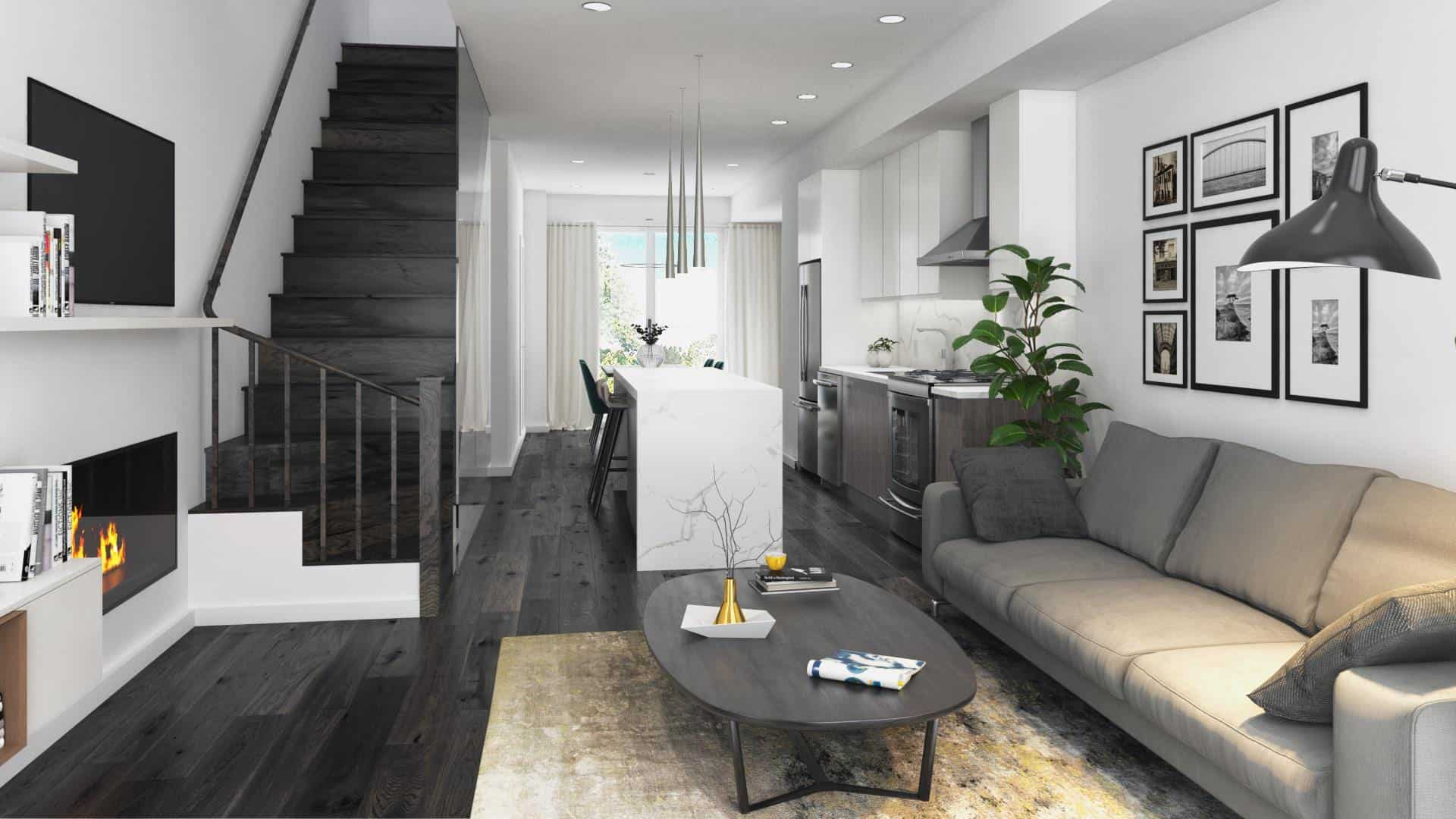Ironwood Towns Condos Interior Rendering True Condos