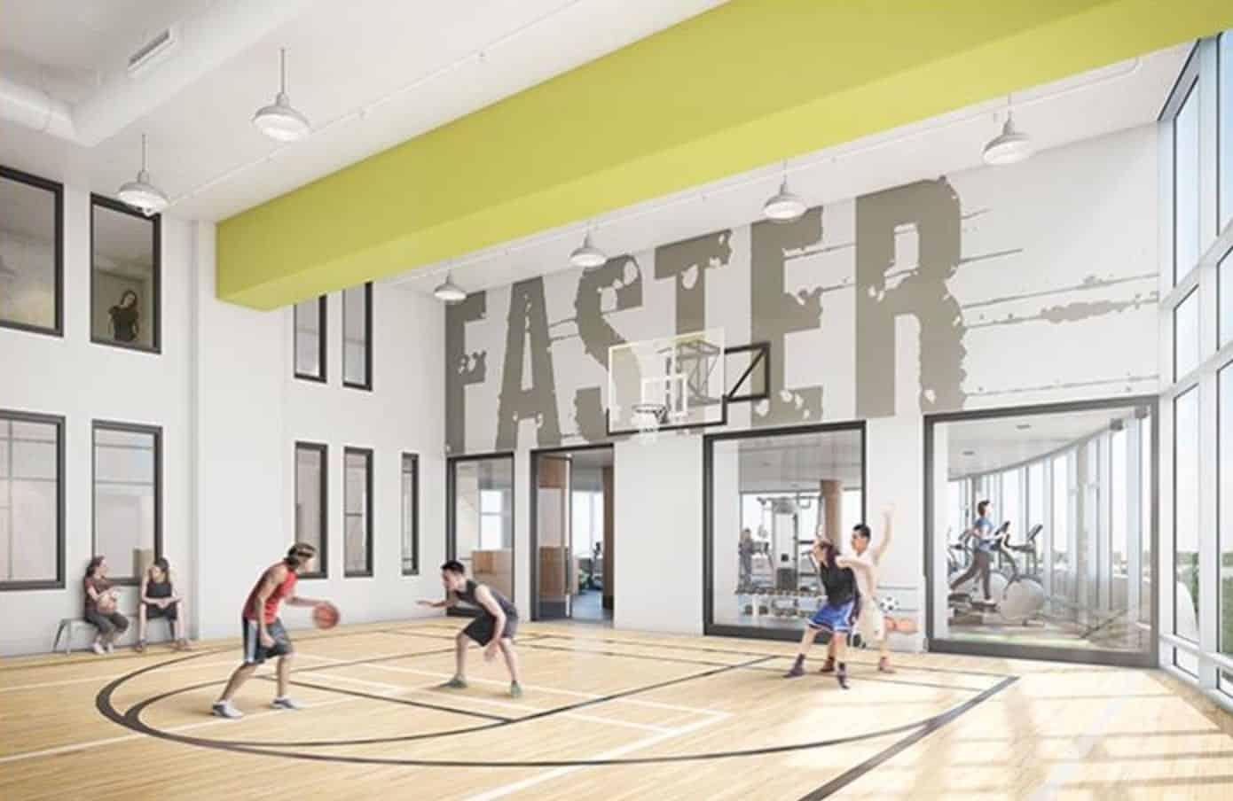 Parc Towns Gym Basketball True Condos