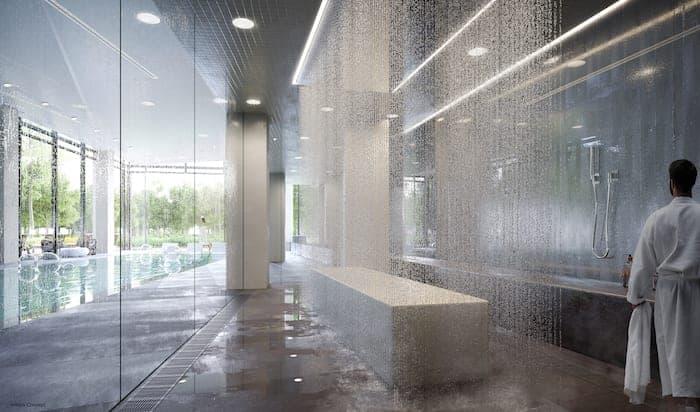 The Branch Condos Rain Room