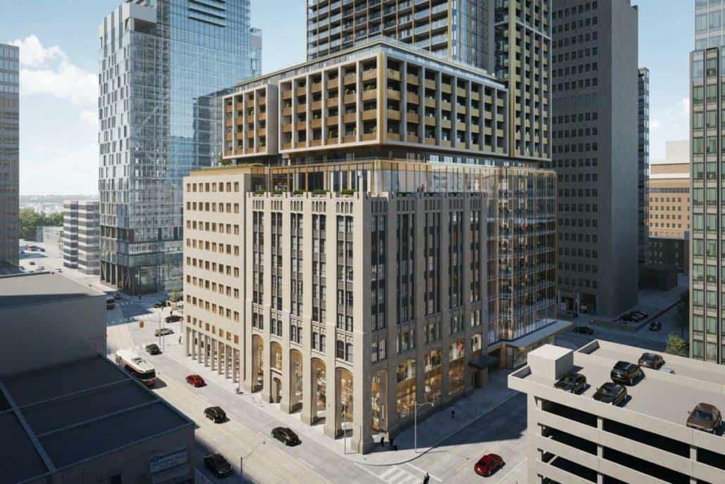 The United BLDG Condos Full Building Rendering True Condos