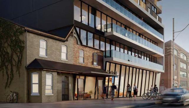 135 Portland Street Condos Building Exterior True Condos