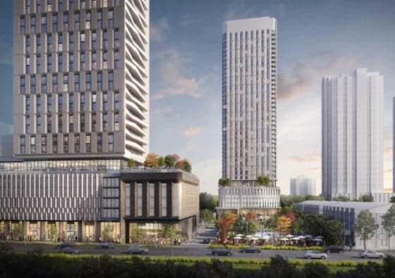 2075 Kennedy Road Condos Building Exterior True Condos