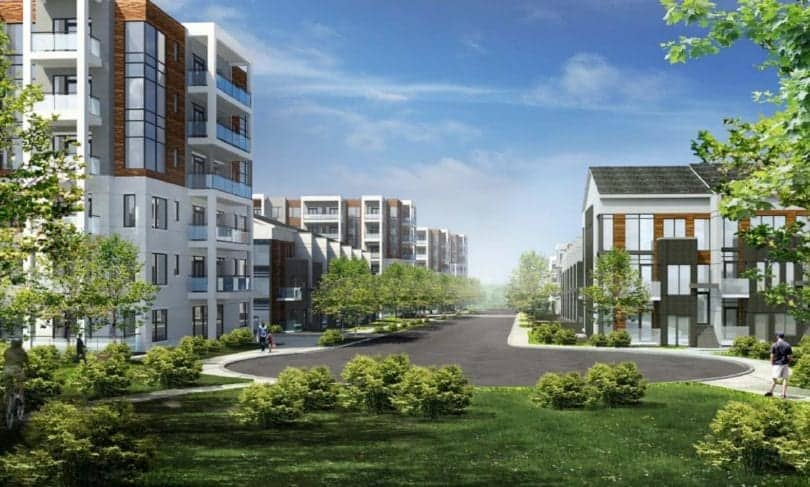 2175 Keele Street Condos and Towns Rendering True Condos