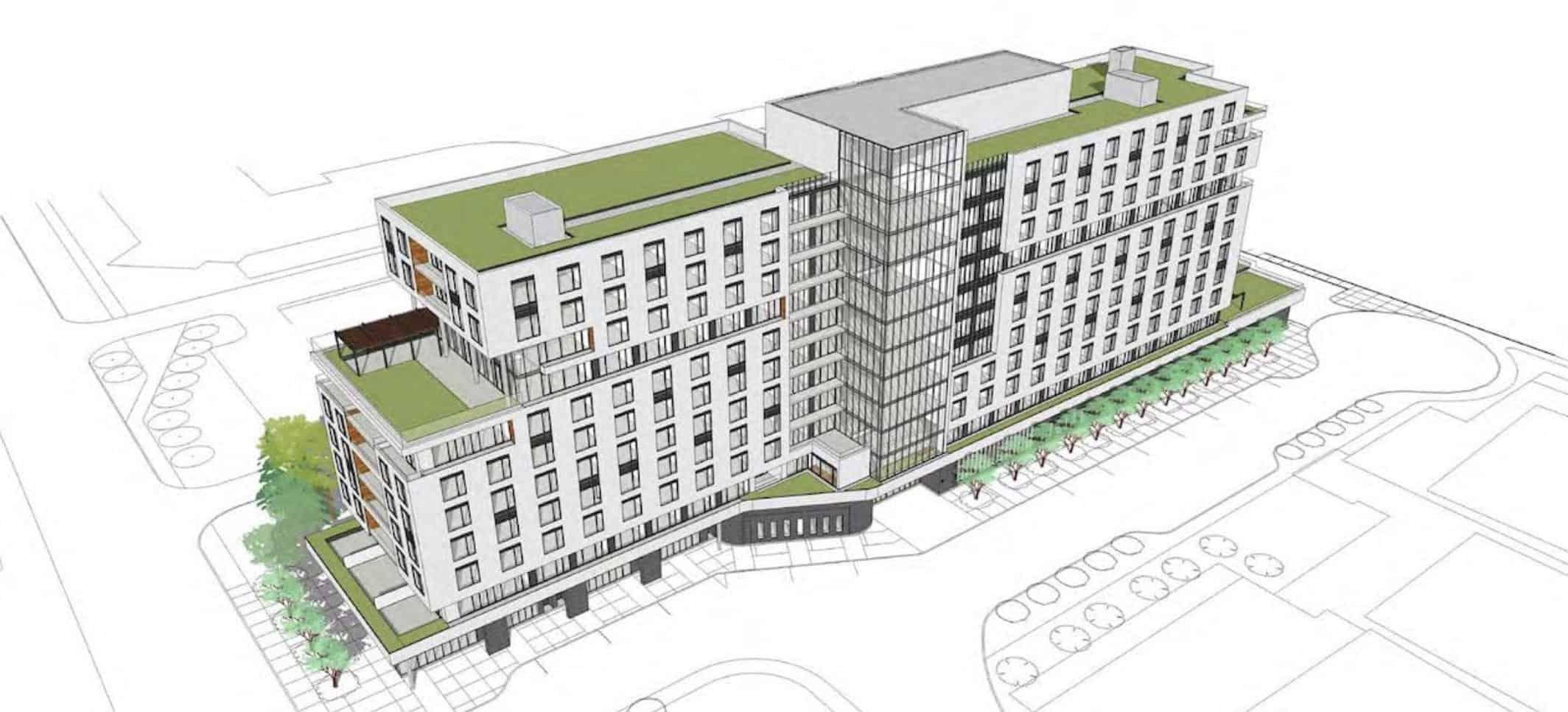 25 Glen Watford Condos Building Rendering True Condos