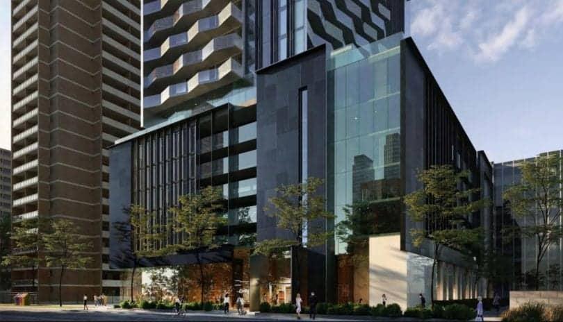 55C Condos 55 Charles Street Condos Building Rendering True Condos