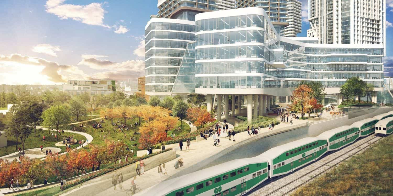 Bloor and Dundas Transit Rendering True Condos