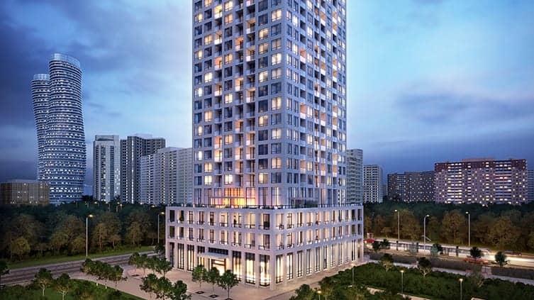 Edge Towers 2 Condos Exterior Building Rendering True Condos
