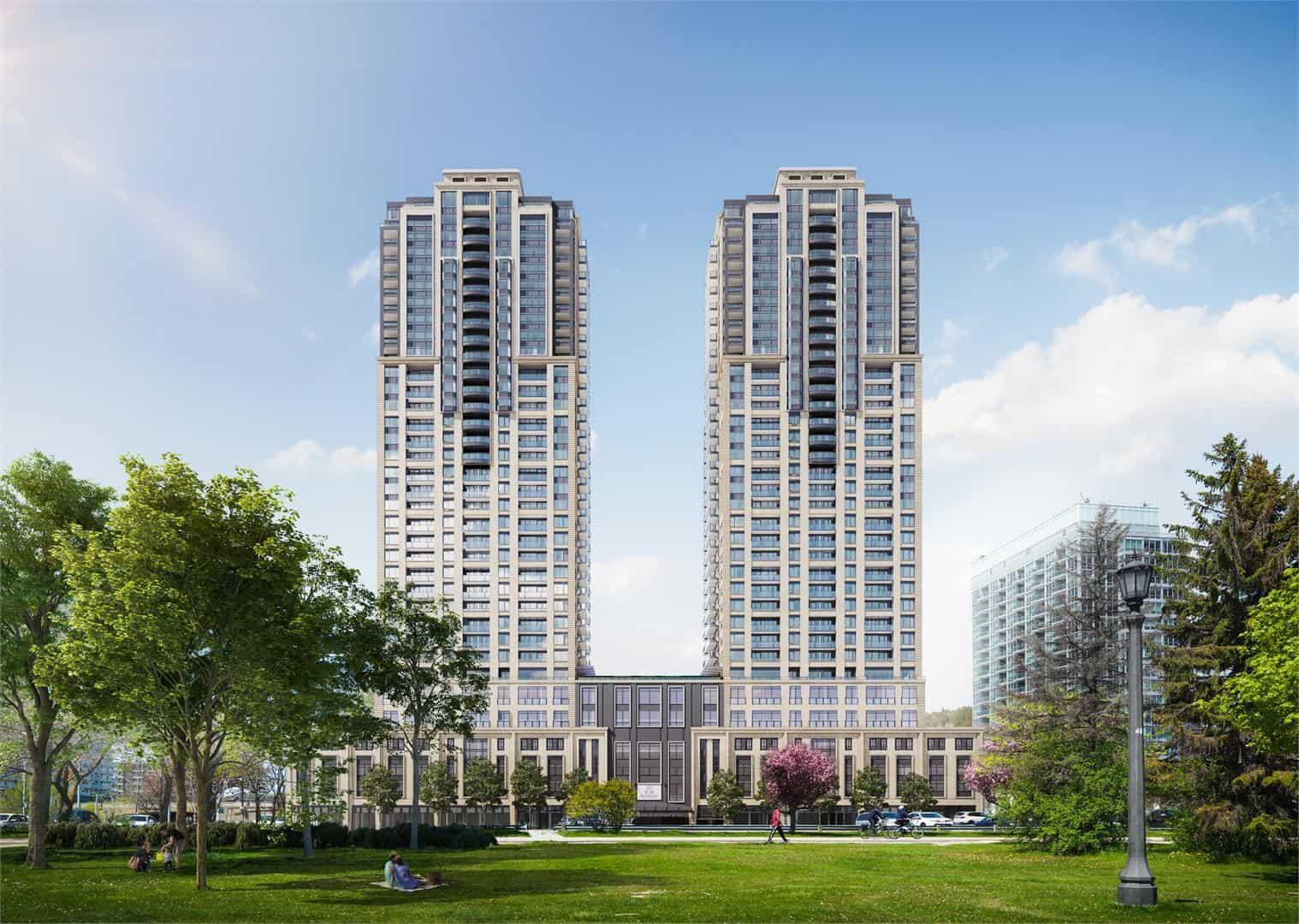 Mirabella Condos West Tower Exterior Buildings True Condos