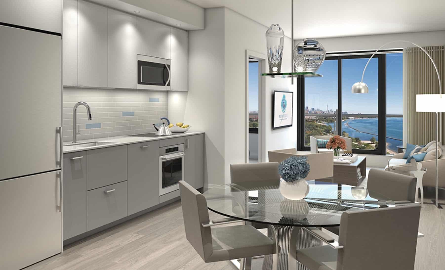 Mirabella Condos West Tower Interior Kitchen True Condos
