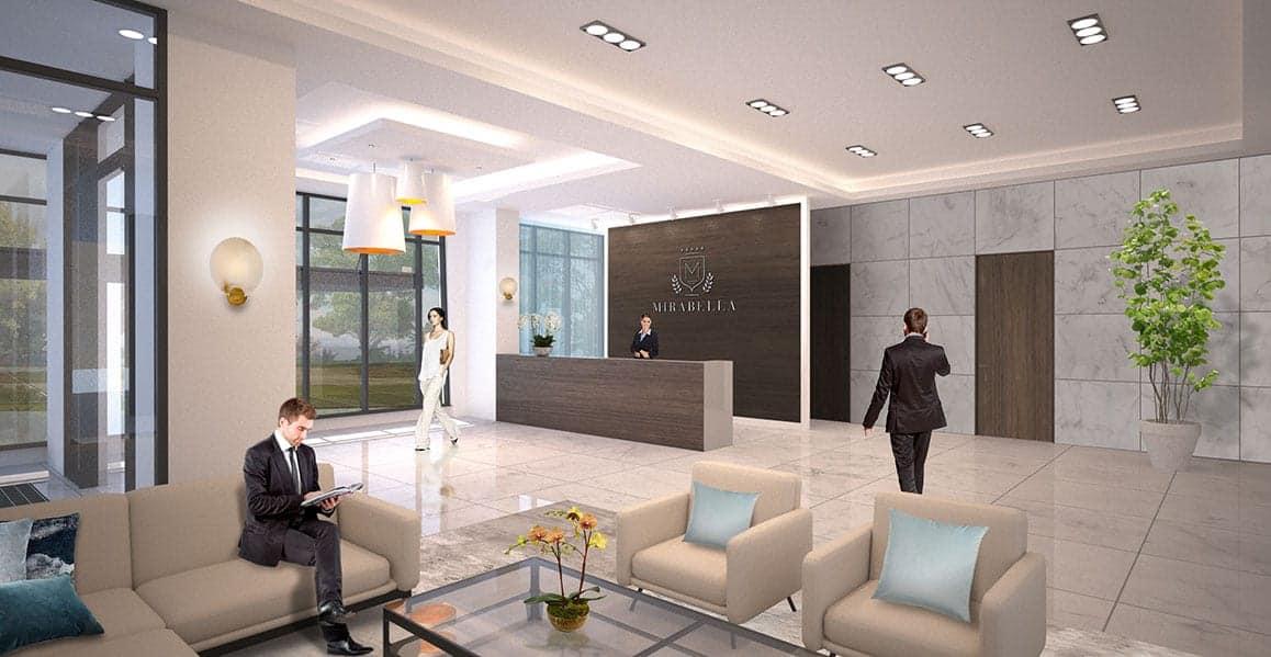 Mirabella Condos West Tower Interior Lobby True Condos