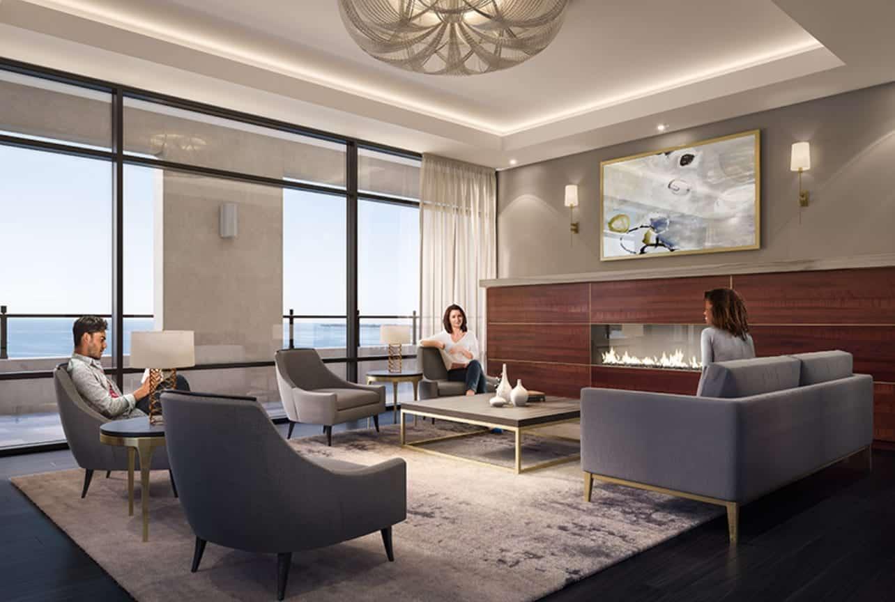 Mirabella Condos West Tower Lounge True Condos
