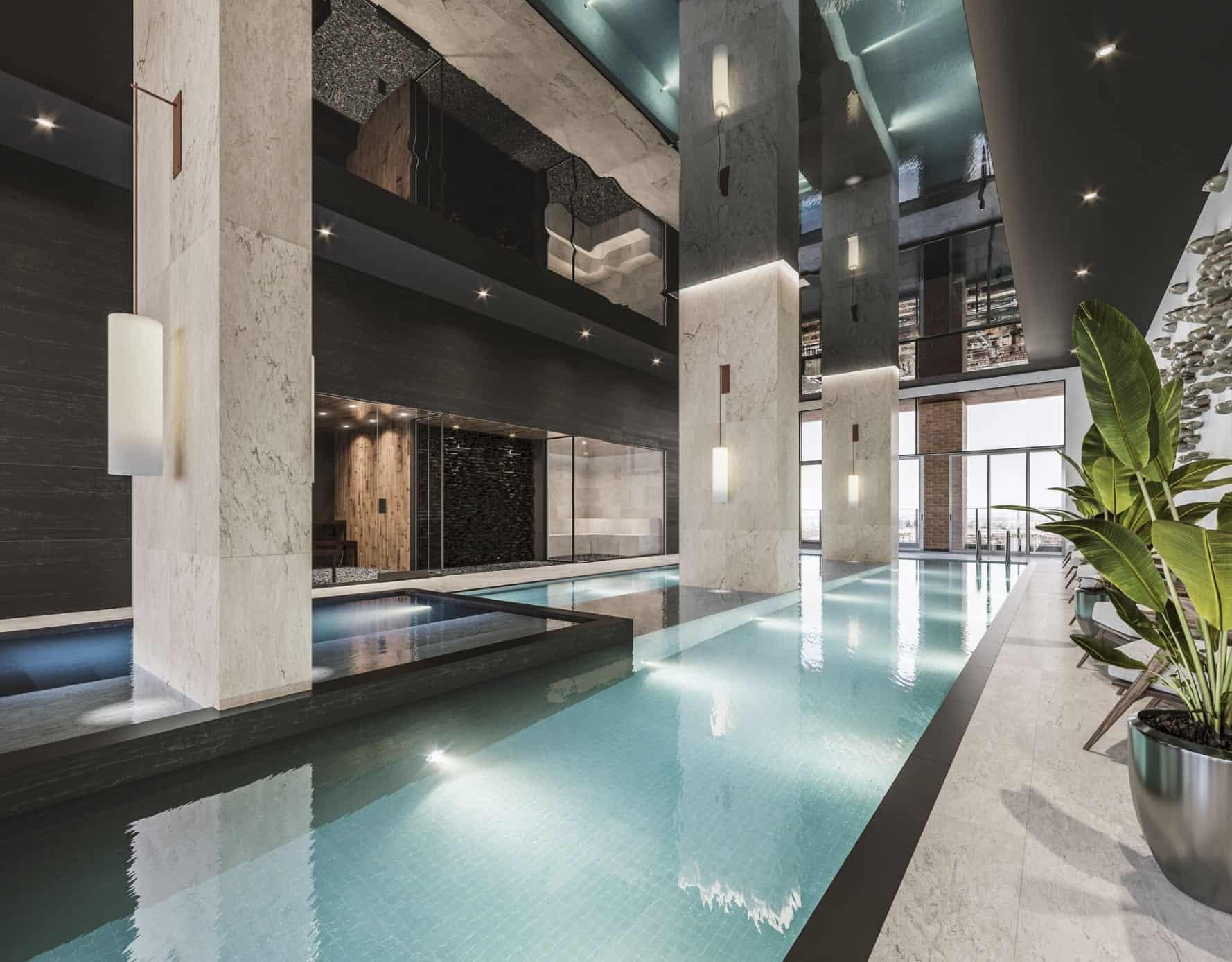 Solstice Montreal Condos Indoor Pool True Condos