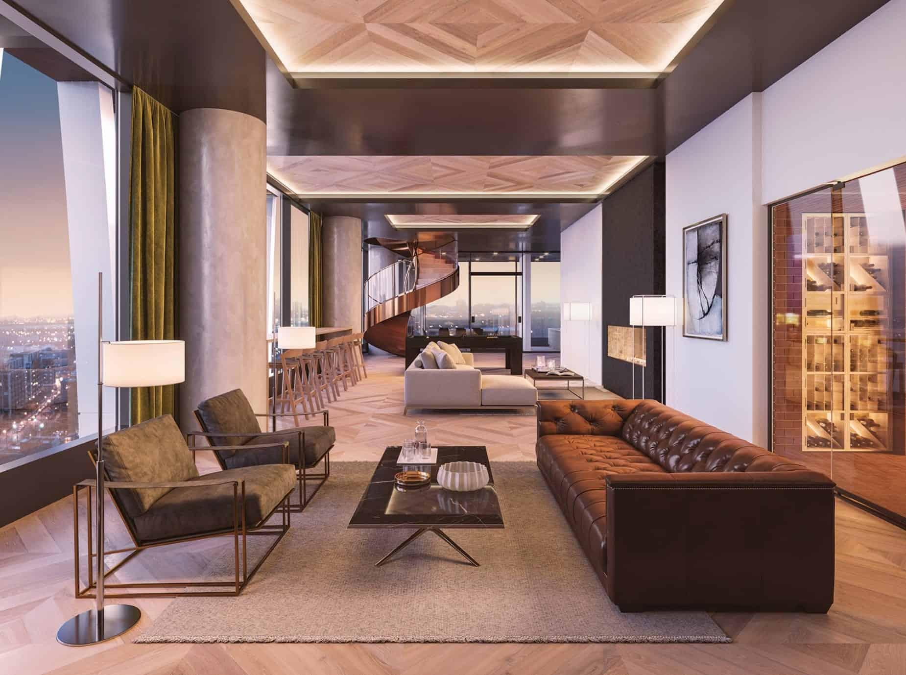 Solstice Montreal Condos Living Room Interior True Condos