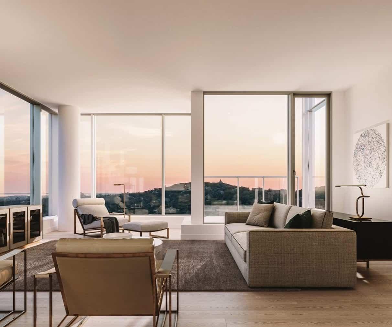 Solstice Montreal Condos Living Room True Condos