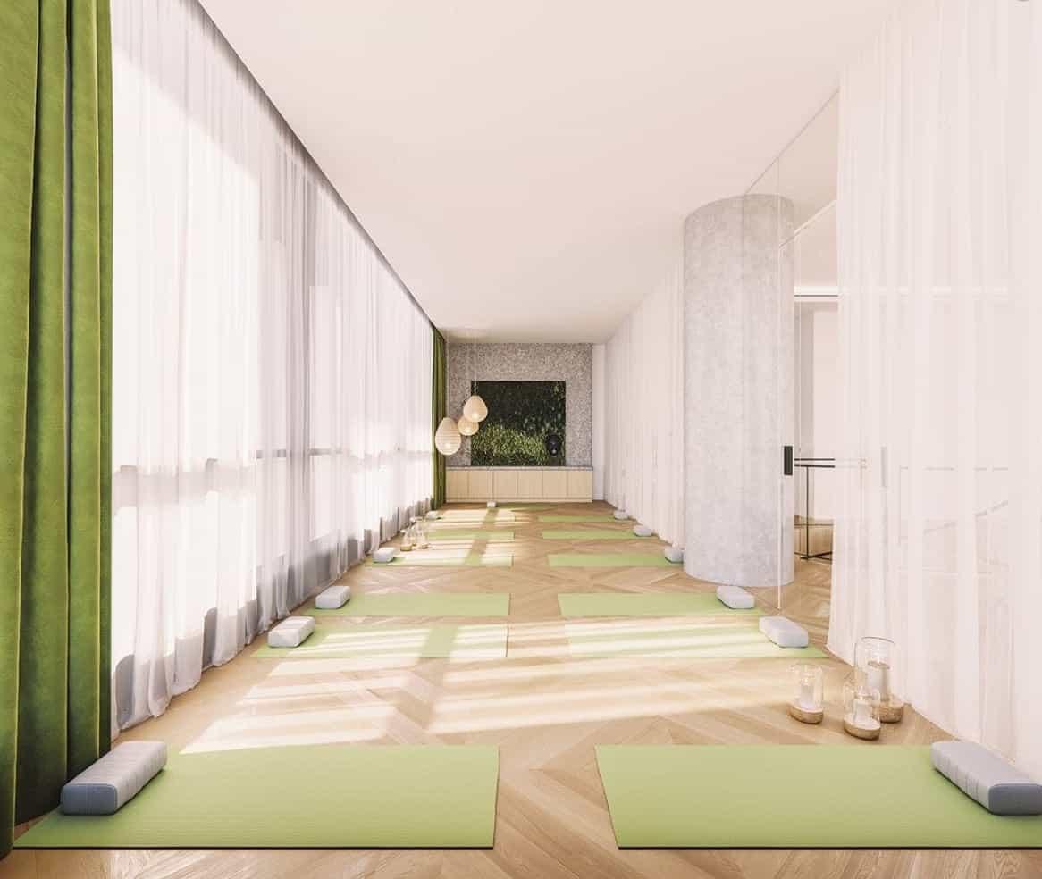 Solstice Montreal Condos Yoga Studio True Condos