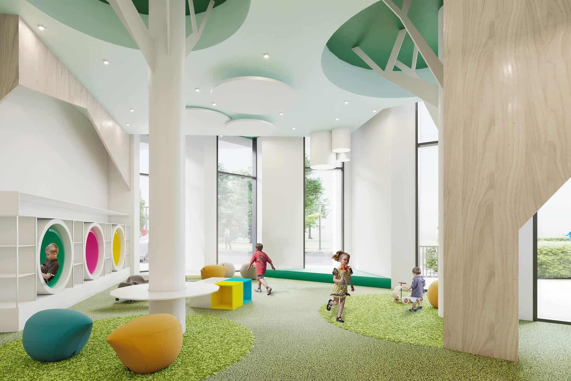 Tretti Condos Children's Play Area True Condos