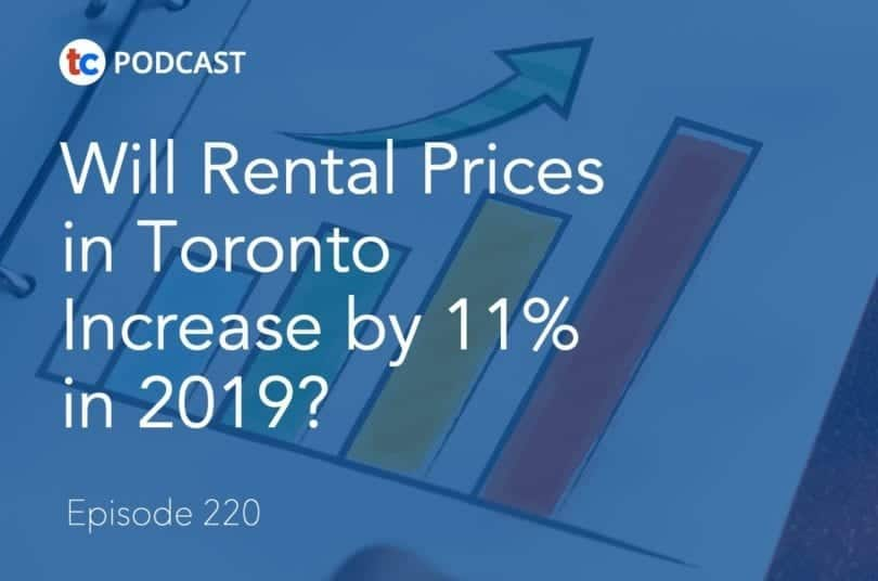 Will Rental Prices in Toronto Increase by 11% in 2019?