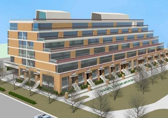 150 Eighth Street Condos Buiding Rendering True Condos