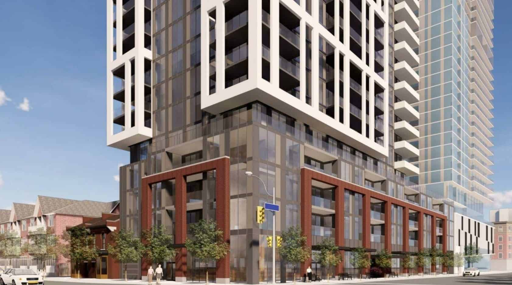 2079 Lakeshore Road Condos Burlington Exterior Building True Condos