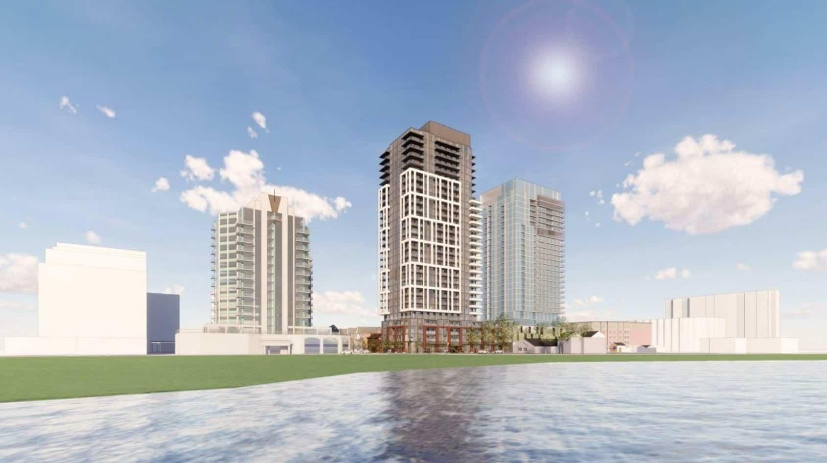 2079 Lakeshore Road Condos Burlington Waterfront Rendering True Condos