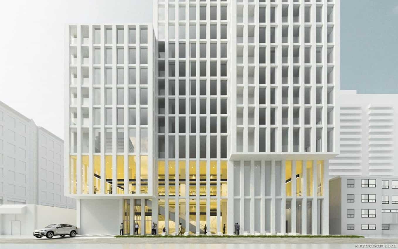 22 Balliol Condos Front Building Rendering True Condos