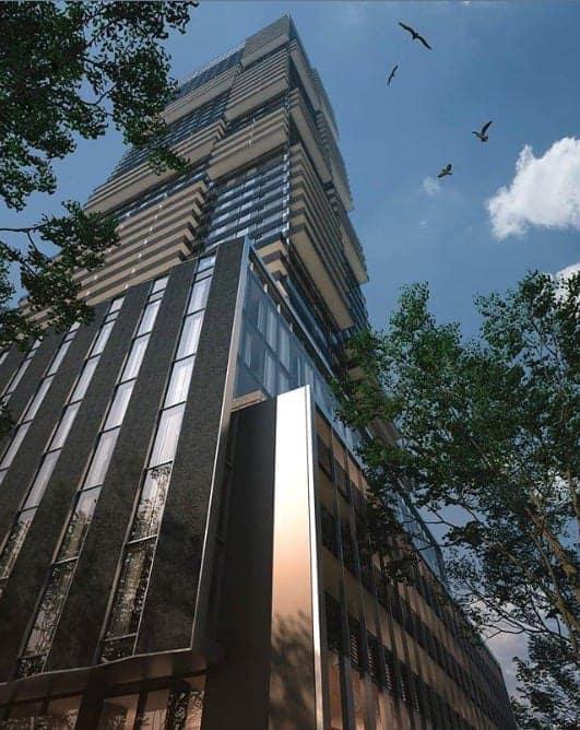 55C Condos Building Exterior True Condos