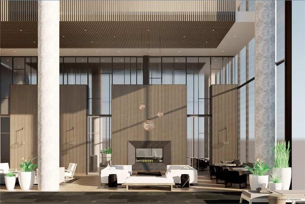 55C Condos Lounge True Condos