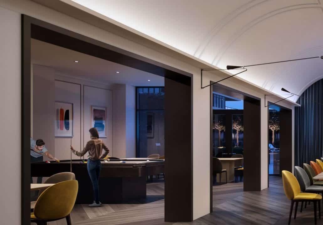 8 Cedarland Condos Billiards Game Room True Condos