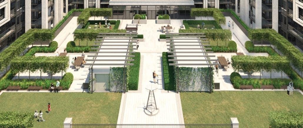 8 Cedarland Condos Courtyard True Condos