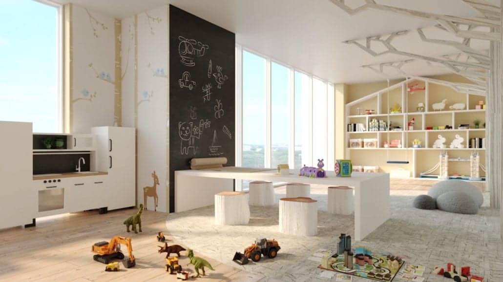 8 Cedarland Condos Kids Playroom True Condos